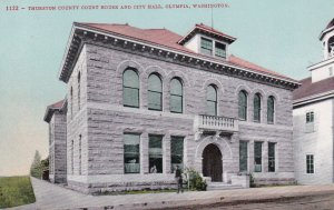 OLYMPIA, Washington, 00-10s; Thurston County Court House and City Hall