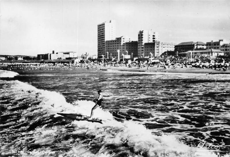 South Africa, Durban, Surfing, Sea, Wave, Beach