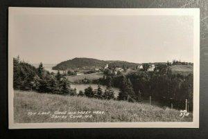 Ungebraucht Vintage Die See Bucht Und West Kopf Sandy Nova Scotia Kanada RPPC