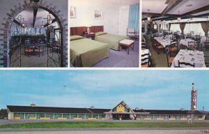 Motel Le Provence , Thetford Mines , Quebec , Canada , 50-60s