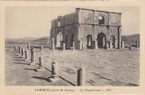 Algeria Timgad pres de Batna Le Praetorium
