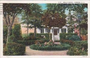 South Carolina Camden Holly Hedge 1932