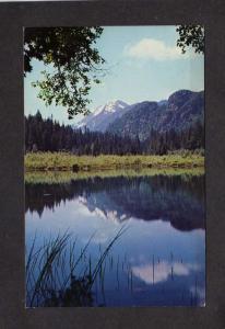 WA Monte Cristo Lake Washington State Sheep Mountain nr Everett Postcard