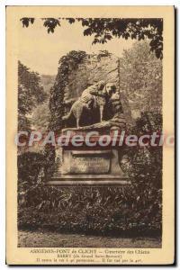 Old Postcard Clichy Asnieres Bridge Cimetiere des Chiens