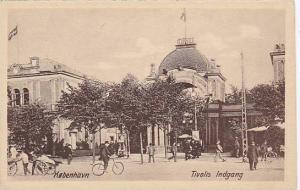 Tivolis Indgang, Kobenhavn, Denmark, 1900-1910s