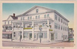 New Hampshire Hampton Beach Ye Colonial Inn