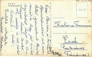 CPA Eger Verseny uszoda HUNGARY (871055)