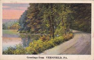 Pennsylvania Vernfield Greetings From Vernfield