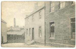 UK, Scotland, The house in which Burns died, Dumfries, early 1900s Postcard