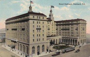OAKLAND , California , 1900-10s ; Hotel Oakland