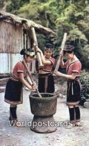 Taiwan Aberiginal Dance, Pounding Millet Cake  Aberiginal Dance, Pounding Mil...