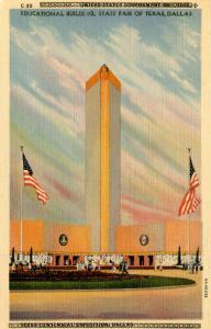 TX - Dallas, 1936. State Fair of Texas. Educational Building