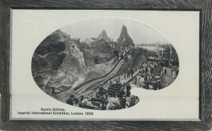 Postcard exhibitions Scenic Railway Imperial International Exhibition 1909 Londo