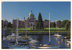 Canada Parliament Buildings Victoria British Columbia