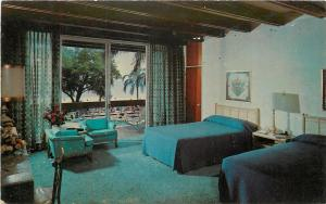Biloxi Mississippi~The Broadwater Beach Hotel~Golf Club~Pool~Beach~1950's PC