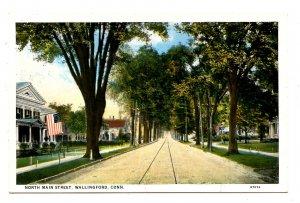 CT - Wallingford. North Main Street
