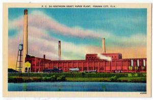 Southern Kraft Paper Plant, Panama City Fl