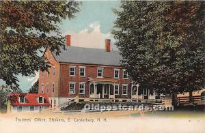 Trustees' Office Shakers, East Canterbury New Hampshire, NH, USA Unused