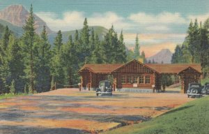 YELLOWSTONE, Wyoming, 1930-40s; Northeast Gate, Cooke City - Red Lodge Highway