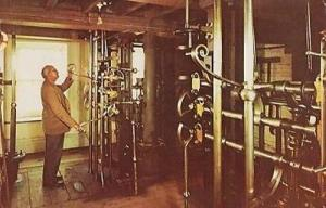 Wiltshire Crofton Beam Engines Factory Worker Labourer Controls Wilts Postcard