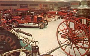 NY - Hudson. Firemen's Home of the State of NY. Engine Hall #2