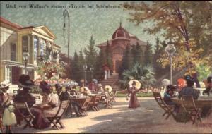 Gruss von Wallner's Meierei Tivoli bei Schonbrunn, Wien Austria Postcard