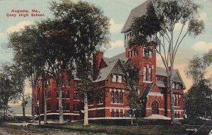 Maine Augasta Cony High School 1914