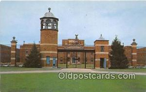 US Federal Prison Terre Haute, Indiana USA Prison Postcard Post Card Terre Ha...