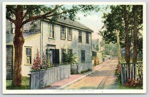 Nantucket MA~Shady Lane Gladiolas~House~H Marshall Gardiner~1910 Detroit Pub Co