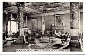 New York City Prince George Hotel Main Lounge