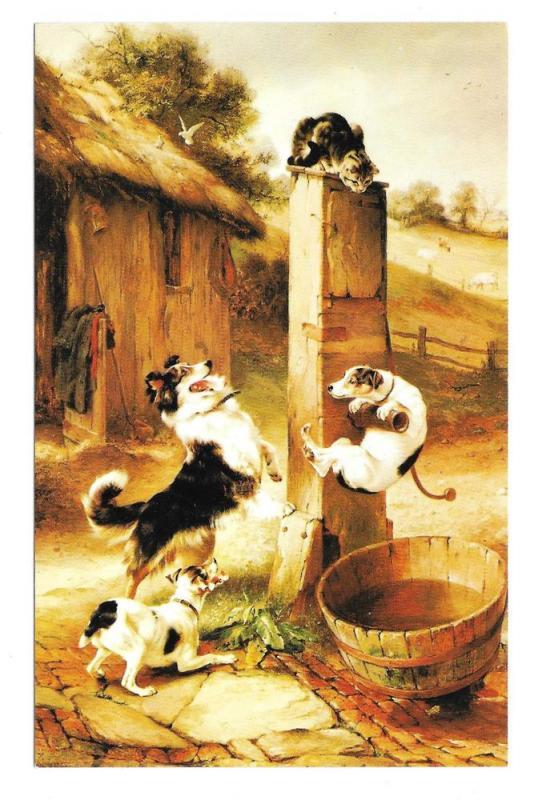 Baffled Walter Hunt Cat Dogs Haussner's Restaurant Baltimore