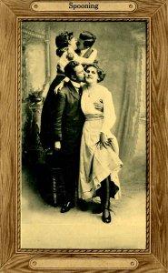 Romantic Couples - Spooning