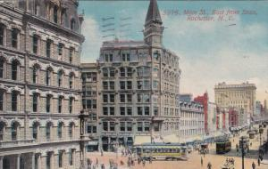 ROCHESTER, New York, PU-1911; Main Street, Cable Cars