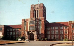 Tennessee Knoxville Ayers Hall University Of Tennessee 1958