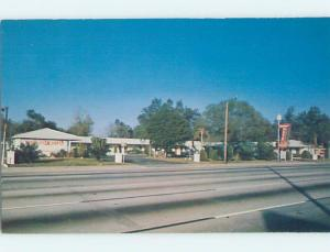 Unused Pre-1980 MOTEL SCENE Tampa Florida FL B6587-12