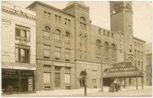 Buffalo NY Pierce Arrow Dealership Teck Theatre RPPC Real Photo Postcard