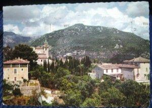 Spain Village scene - posted 1957