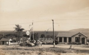 RP: BELFAST , Maine,  1948 ; ESSO Gas Station