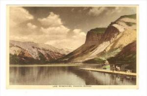 Lake Minnewanka, Canadian Rockies, Banff, Alberta, Canada, 1900-1910s