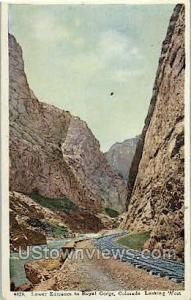 Lower Entrance to the Royal Gorge