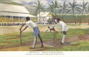 papua new guinea, KWATO, Cricket Match (1920s) Mission
