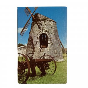 St Croix Virgin Islands Frederiksted Whim Greathouse Windmill Postcard