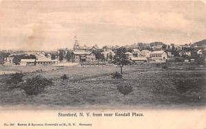 From near Kendall Place Stamford, New York Postcard