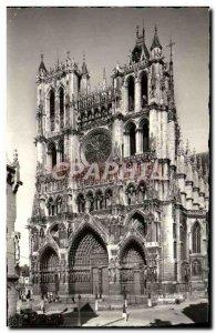Modern Postcard Amiens Cathedral View D & # 39Ensemble
