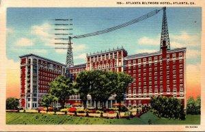 Georgia Atlanta The Atlanta Biltmore Hotel 1947 Curteich