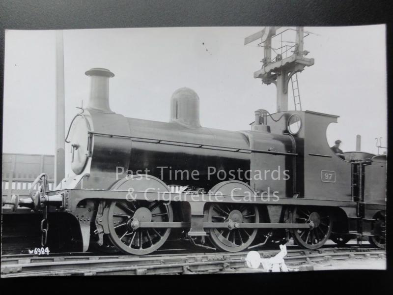 Great Central Railway GCR Steam Locomotive No.97 RP Photocard
