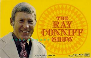 1976 Sparks NV PC Publicity: Ray Coniff Orchestra Appears at Nugget Casino