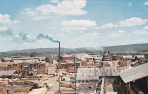 Lumberman´s Row , PRINCE GEORGE , B.C. , Canada , 50-60s