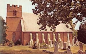 Seaford Delaware~St Luke's Episcopal Church~Grave Yard~Tombstones~1960s PC