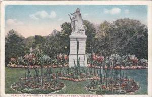 Pennsylvania Philadelphia Statue Of Religous Liberty Fairmount Park
